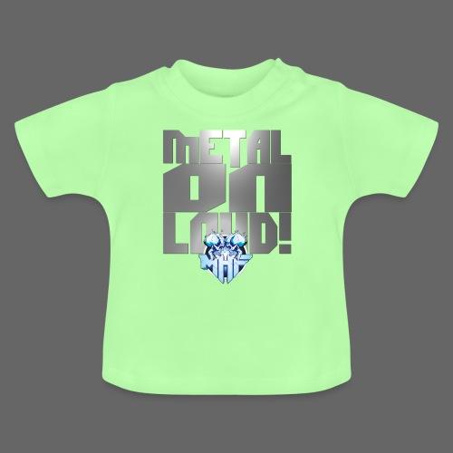 metalonloud large 4k png - Baby T-Shirt