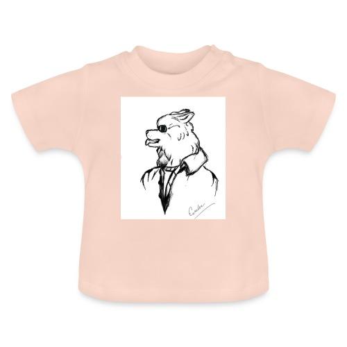 InkedThe Dog style bak LI - Camiseta bebé