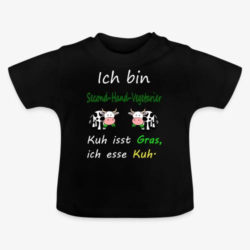 ich liebe kühe - Baby T-Shirt