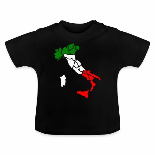 Karte von Italien - Baby T-Shirt