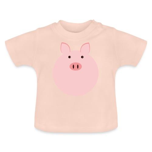 Schweinchen Fred - Baby T-Shirt