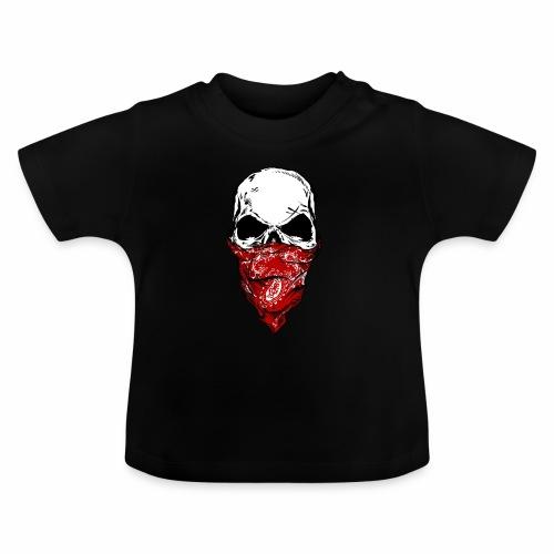Bandit Skull - Vauvan t-paita