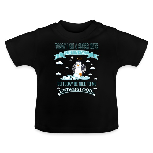 Pinguin Engel Weihnachten Antarktis Shirt Geschenk - Baby T-Shirt