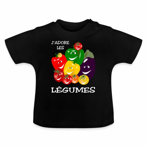 I love vegetables - Baby T-Shirt