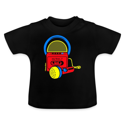 My first Boombox - Baby T-shirt