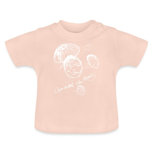 Go with the flow - Baby T-Shirt