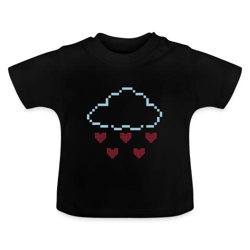 Wolke Pixelherz - Baby T-Shirt