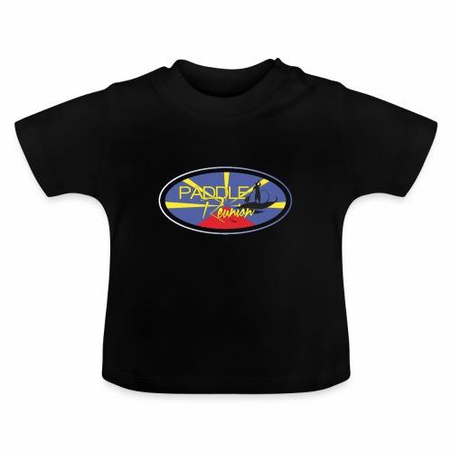 Drapeau Paddle Reunion - T-shirt Bébé