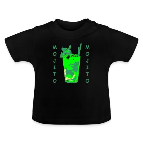 Mojito bicchiere colorato - Maglietta per neonato