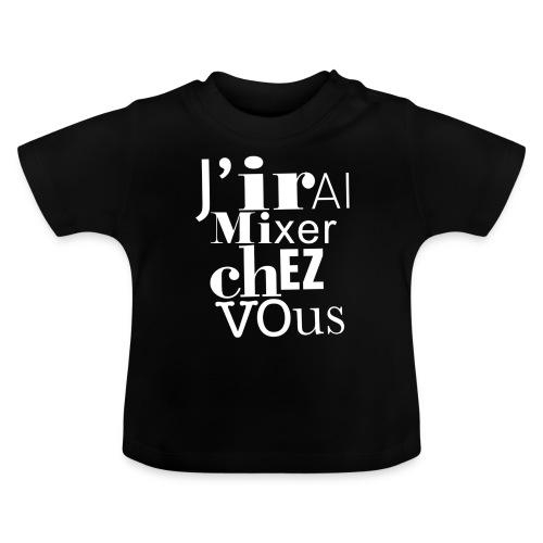 logo-jirai-blanc - T-shirt Bébé