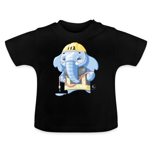 Feuerwehr Elefant - Baby T-Shirt