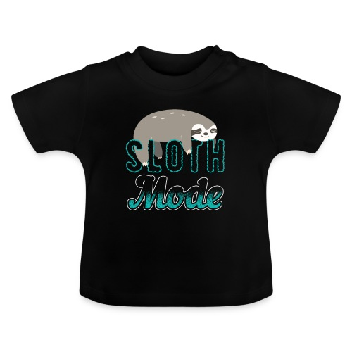 Sloth Mode Tired AF Running Shirt - Baby T-Shirt