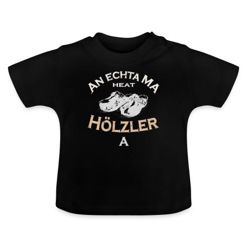 Hölzler Holzschuhe - Baby T-Shirt