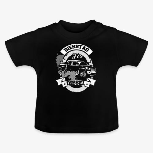 Dienstag for Diesel Fridays for Hubraum Klimakrise - Baby T-Shirt
