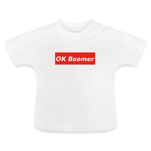 OK Boomer Meme - Baby T-Shirt