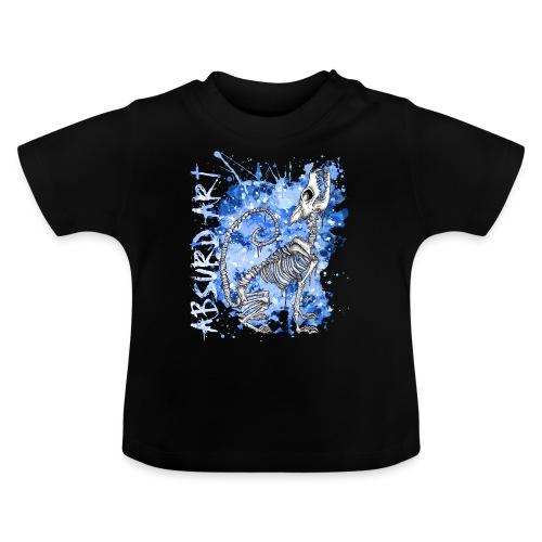 Knochentierchen Wolf von Absurd ART - Baby T-Shirt