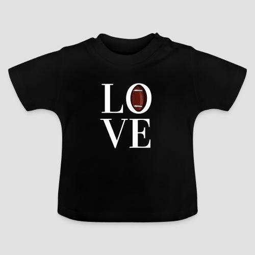 DESIGN football love coloured - Baby T-Shirt