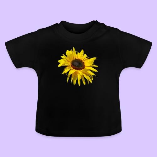 blühende Sonnenblume, Sonnenblumen, Blumen, Blüten - Baby T-Shirt