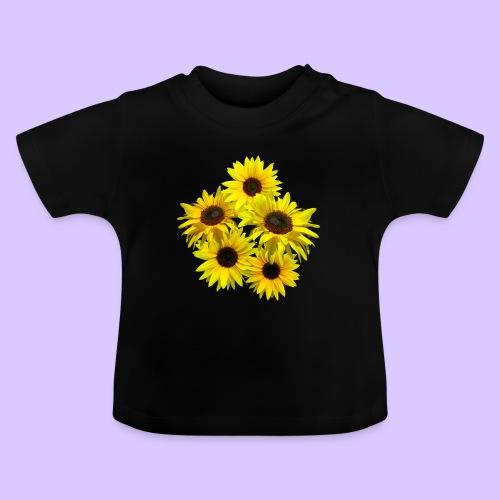 Sonnenblumenstrauss, Sonnenblume, Sonnenblumen - Baby T-Shirt