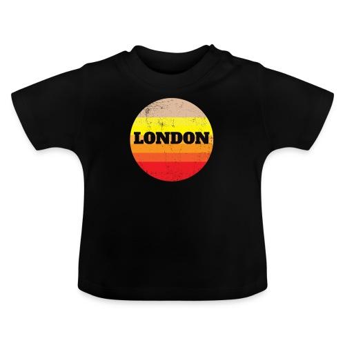 Retro London Souvenir - Vintage Sonnenuntergang Lo - Baby T-Shirt