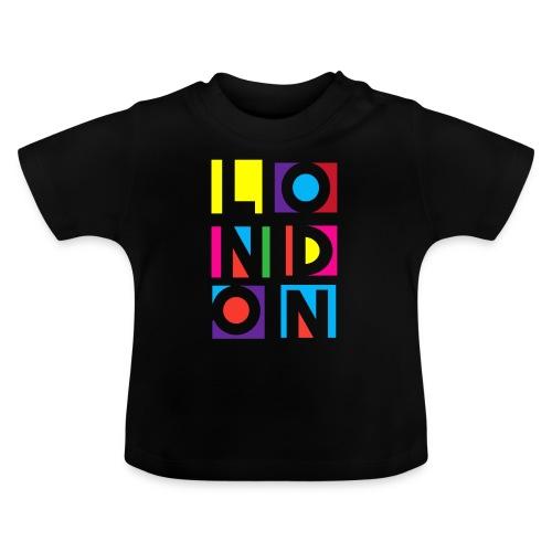 Vintage London Souvenir - Retro Modern Art London - Baby T-Shirt