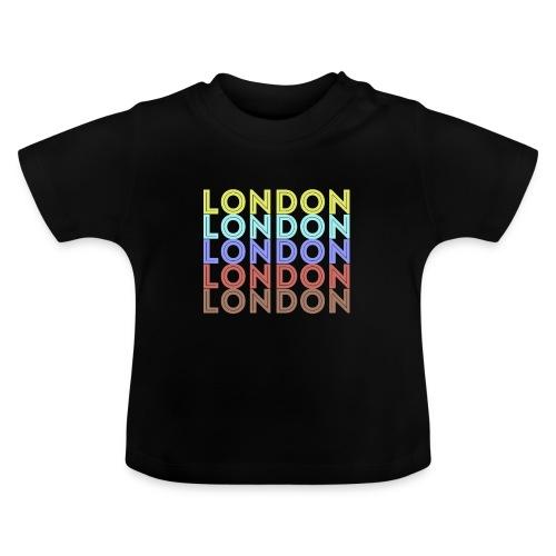 Vintage London Souvenir - Retro London - Baby T-Shirt