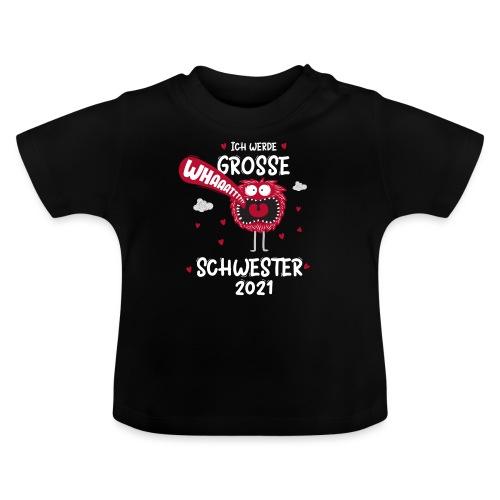 Großer Bruder 2021 lustiges Monster - Baby T-Shirt