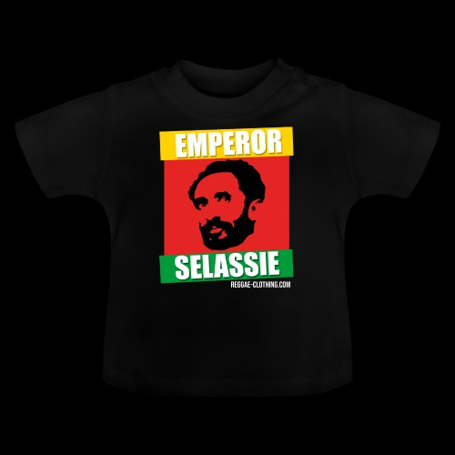 EMPORER SELASSIE red gold green - Baby T-Shirt