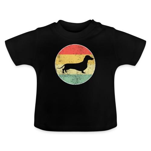 Dackel Dachshund Hundehalter Geschenk - Baby T-Shirt