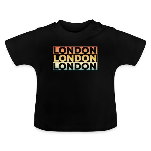 Vintage London Souvenir - Retro SehnsuchtLondon - Baby T-Shirt