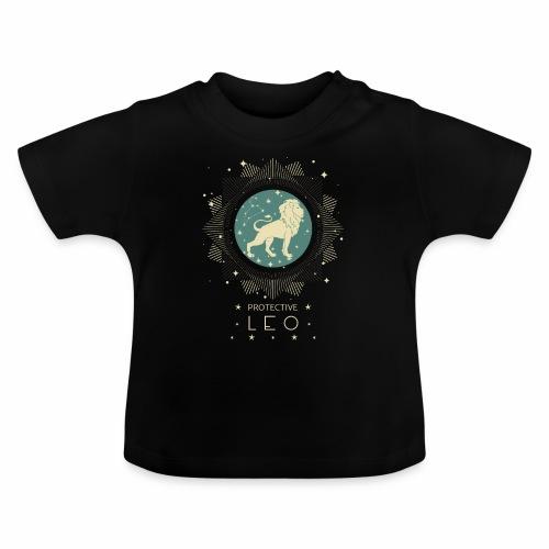 Sternzeichen Löwe Sternbild Geburtstag Juli August - Baby T-Shirt