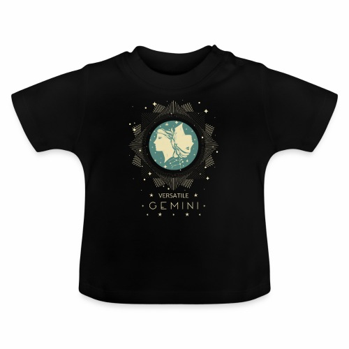 Vielseitiger Zwilling Sternbild Monat Mai Juni - Baby T-Shirt