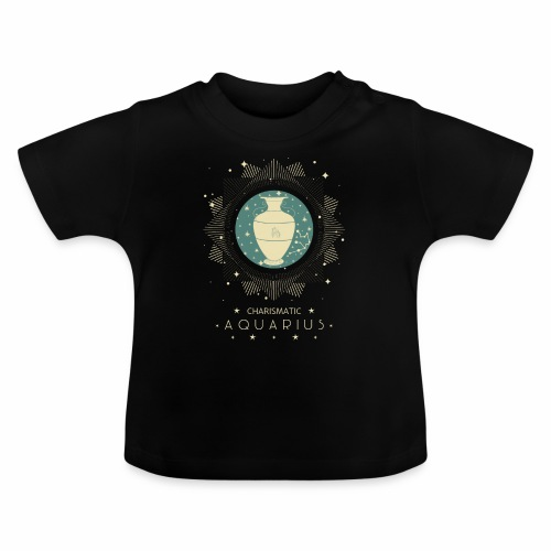 Sternzeichen Wassermann Aquarius Januar Febbruar - Baby T-Shirt