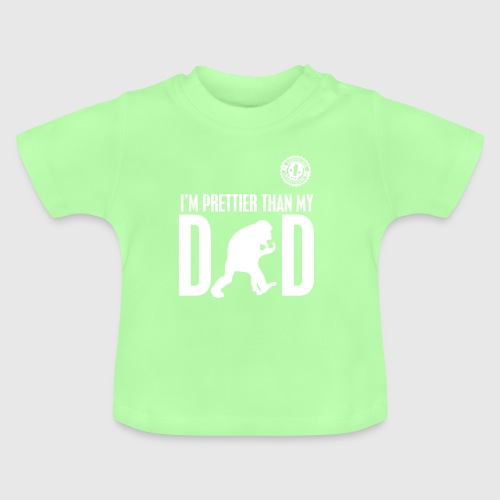 DAD WHITE png - Baby T-shirt