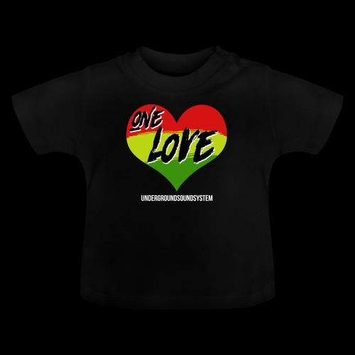 ONE LOVE - HEART - Baby T-Shirt