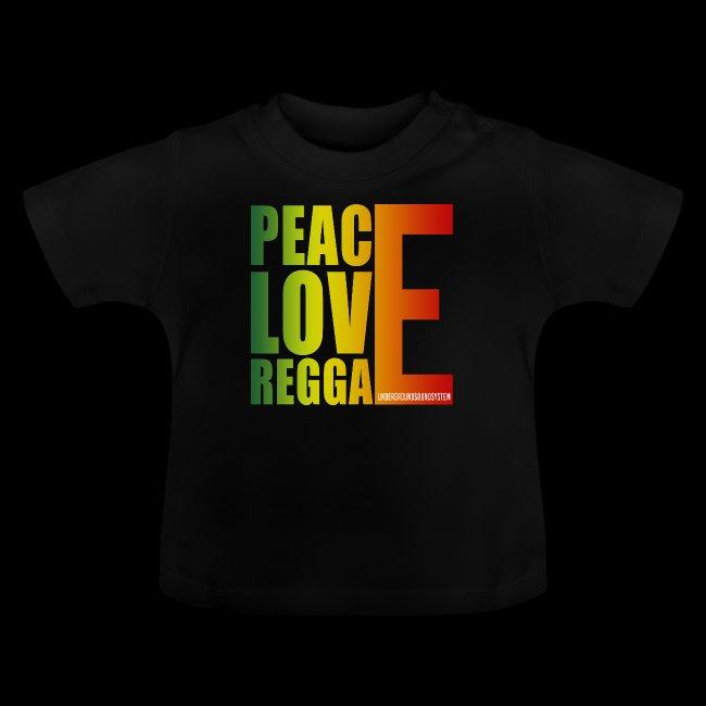 PEACE LOVE REGGAE