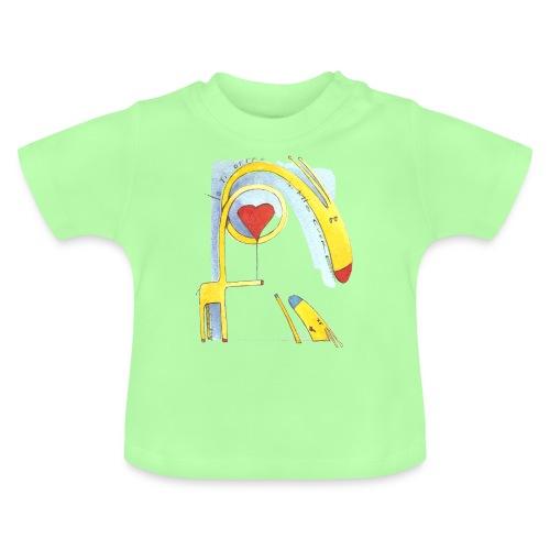 Giraffa innamorata - Maglietta per neonato