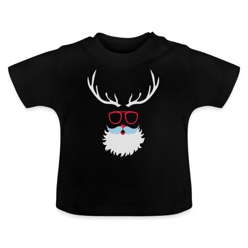 Santa Clauss Eye glasses - T-shirt Bébé