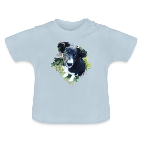 colliegermanshepherdpup - Baby T-Shirt