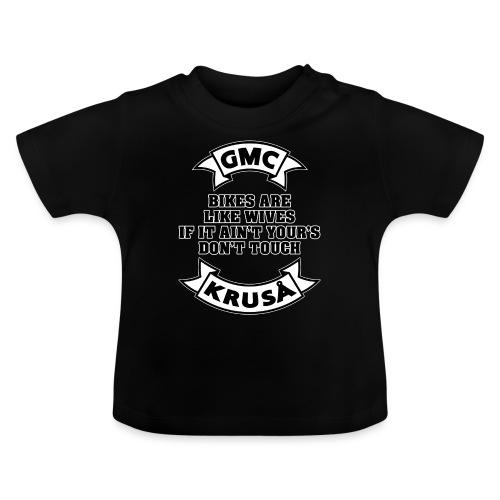 GMC cykler er som kvinder - Baby T-shirt