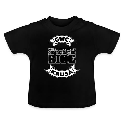 GMC, NÅR LIVE FÅR KOMPLICERET - Baby T-shirt