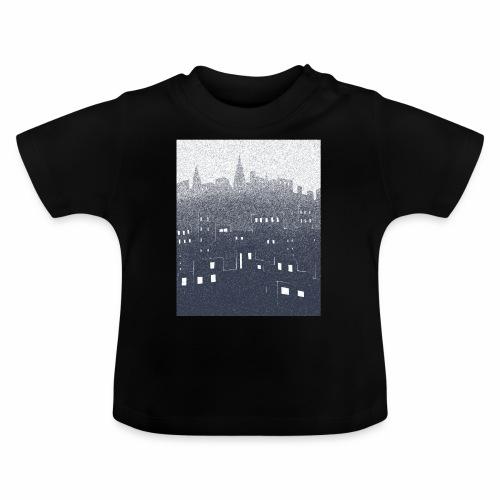 citysnow rectangle - T-shirt Bébé