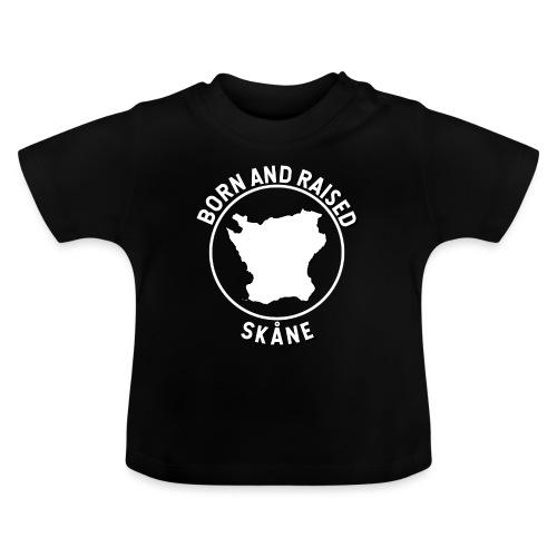 Skåne, Sverige - Född och Uppvuxen - Baby-T-shirt