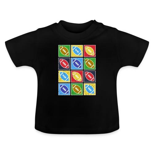 American Football Fan Shirt Geschenkidee - Baby T-Shirt