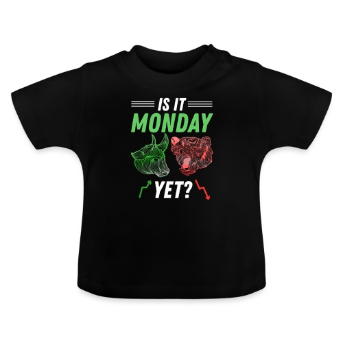 Är Det Måndag Snart Aktiemarknaden Trader - Baby-T-shirt