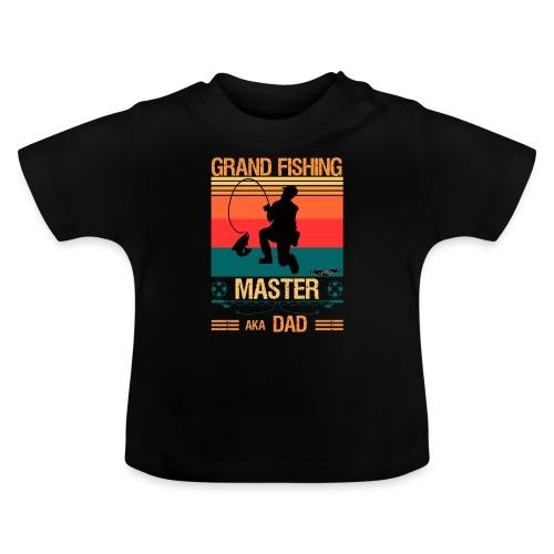 Den Store Fiskarmästaren Även Kallad Pappa - Baby-T-shirt