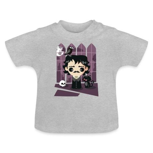 A damned Poe-t's house - Maglietta per neonato