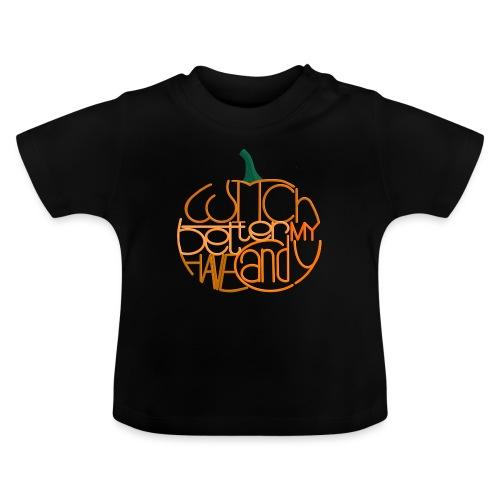 Græskar med citat - Baby T-shirt
