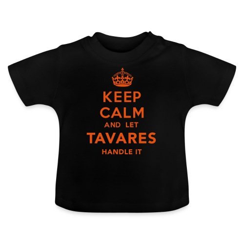 Keep Calm Tavares - Baby-T-shirt