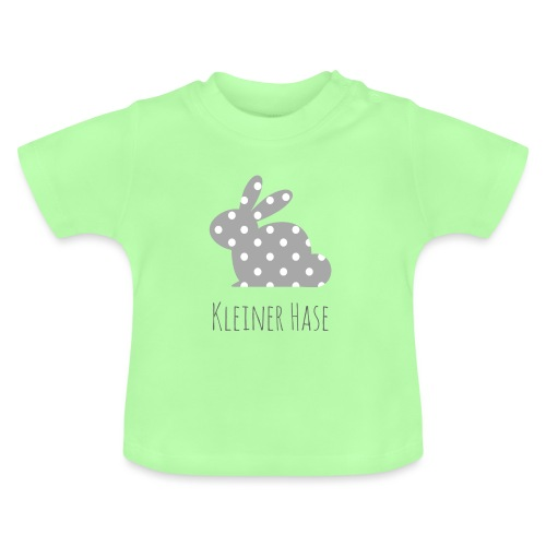 Hase grau - Baby T-Shirt